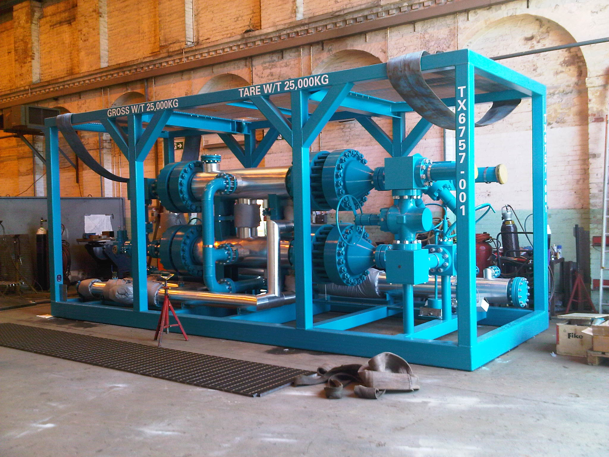 Multi-Tube Heat Exchanger for Expro Group