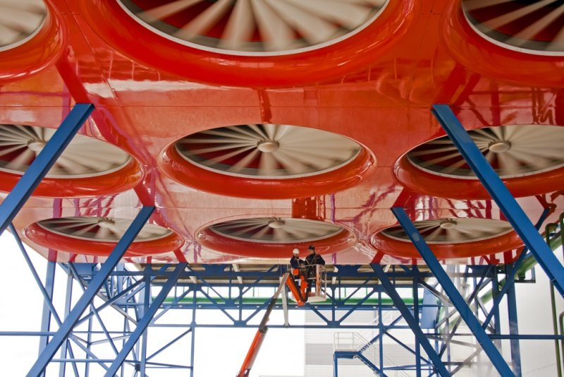 Whizz-Wheel fan system for the power industry