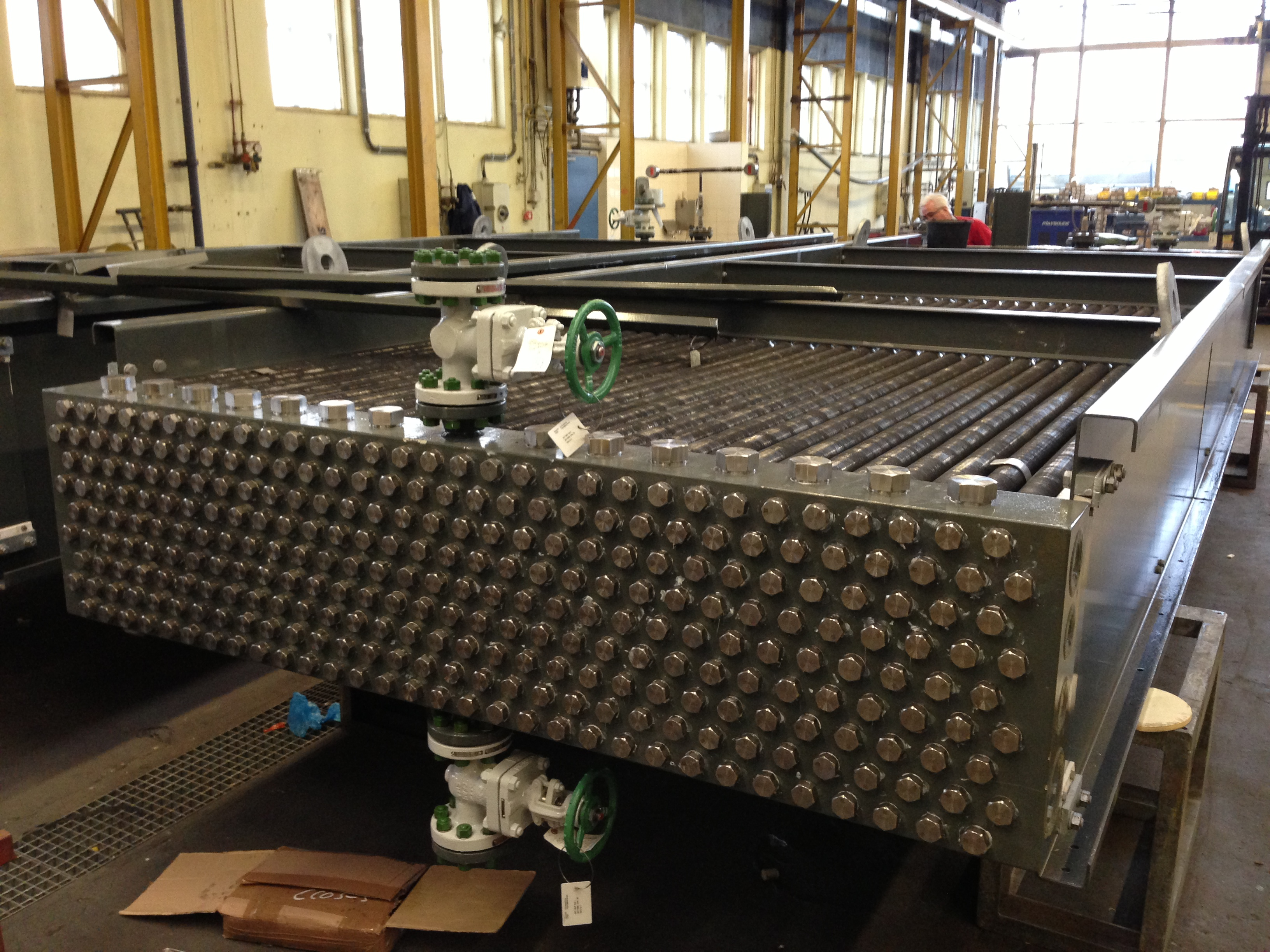 Exotic materials for Air-Cooled Heat Exchangers