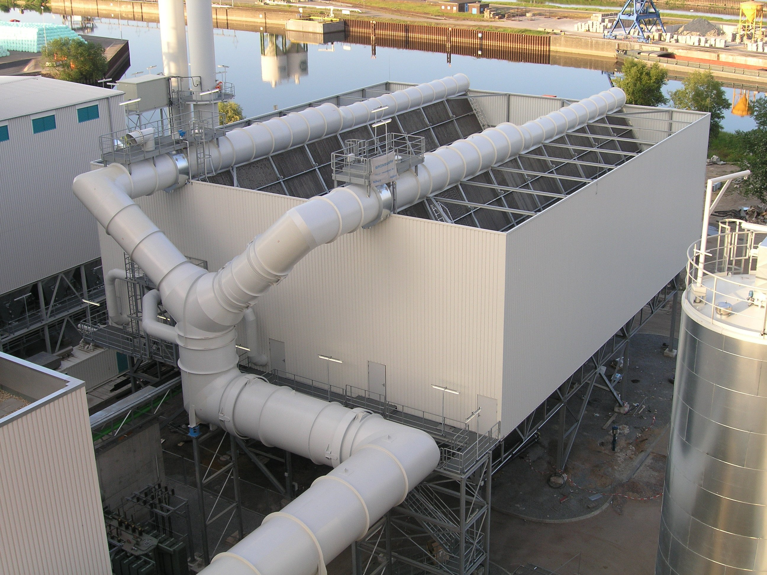 Air cooled condensers (a-frame - luko)