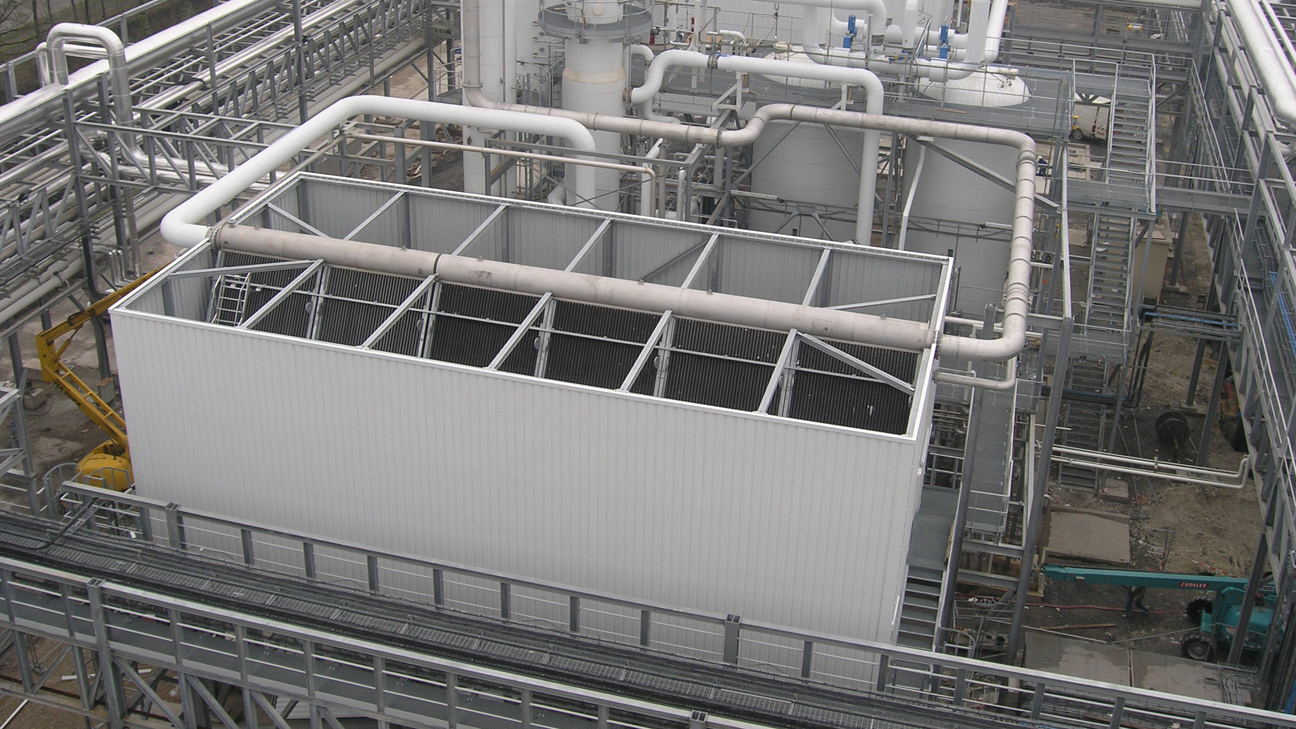 Air-cooled condensers (a-frame - luko)