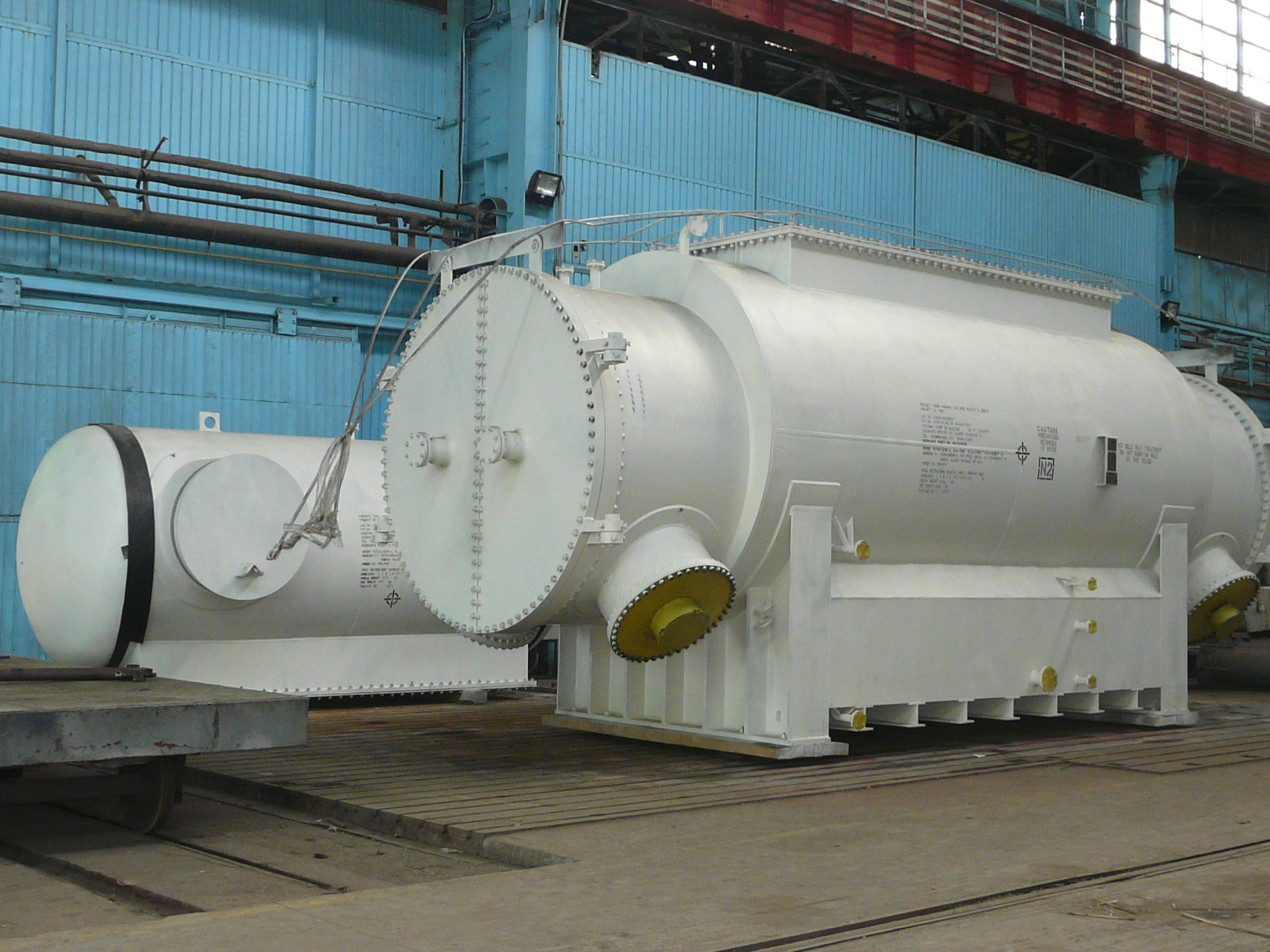 TEMA type shell & tube heat exchangers foto 01