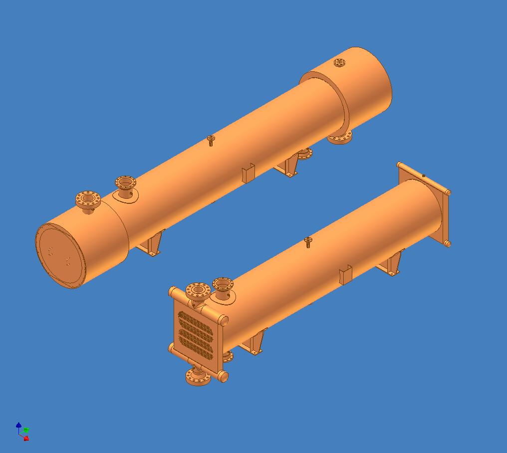 2.02 - high pressure shell & tube heat exchanger (compact header) foto 09